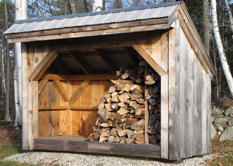 outdoor firewood storage prefab wood storage sheds