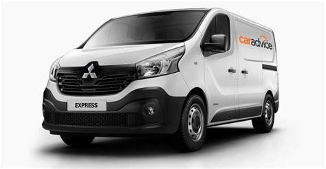 mitsubishi express reborn australian future renault trafic based