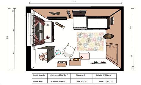 plan de chambre 3d chambre bébé déco and co