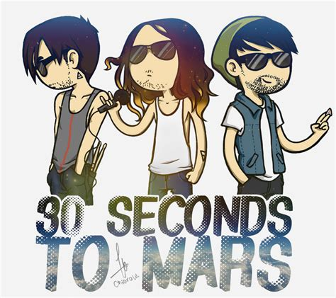 30 Seconds To Mars [cartoon Ver] By Mallowee On Deviantart