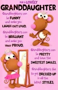 wedding card box sayings wonderful granddaughter birthday greeting card