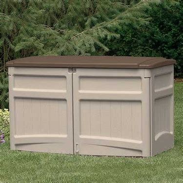 Suncast Horizontal Utility Shed 30 Cu Ft by Garage Organizers Garage Organization Garage Storage