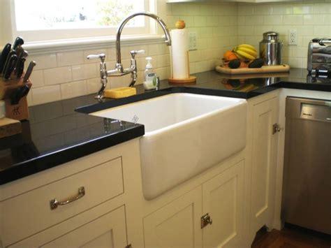 Farmstyle Apron Sink  Traditional  Kitchen San