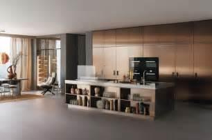 Modern Italian Kitchen Design From Arclinea by Arclinea Italia In Bronze Bronze Bronze Kitchen