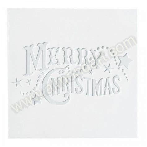 large merry christmas stencil ho ho ho pinterest
