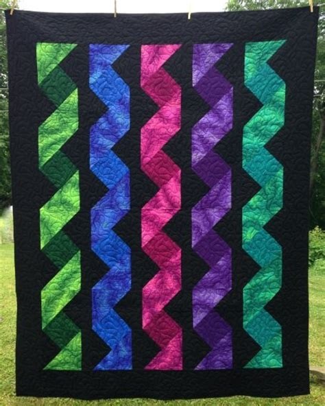 Cascading Ribbons Quilt* - 021