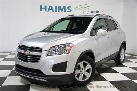 Chevrolet Trax 2016 by 2016 Used Chevrolet Trax Fwd 4dr Lt At Haims Motors