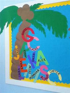 chicka chicka boom boom and welcome to school on pinterest With pre cut letters for bulletin boards