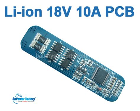 Ion Lithium Cell Battery Protection
