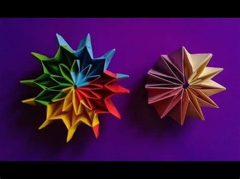 Origami Fireworks Yami Yamauchi Youtube Flower