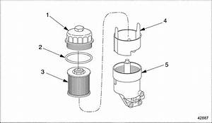 Mercede Benz Fuel Filter On M2
