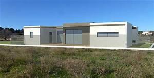 maison neuve darchitecte toit plat With charming photo maison toit plat 5 photo de maison neuve toit plat