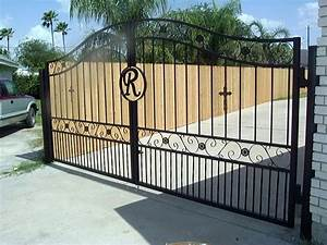 wrought iron gate hinges australia for iron fence With metal letters for gates