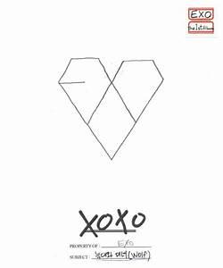 #EXO Team XOXO First Year ♡ Kiss version album cover ...