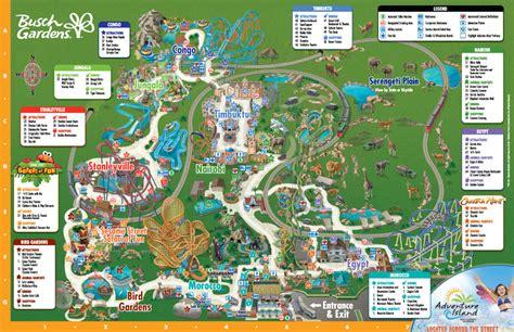 busch gardens pass theme park information busch gardens ta