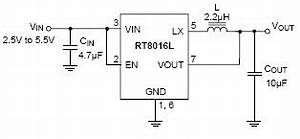 rt8016l 15mhz 600ma high efficiency pwm step down dc With 3w power led driver circuit pwm high power led driver step down dc