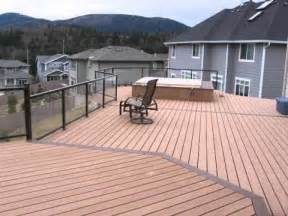 sealer  composite decking youtube