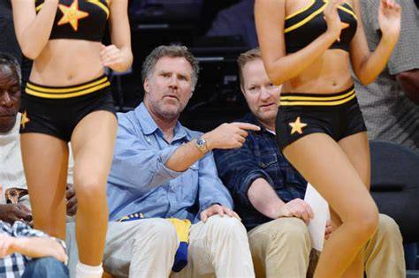 He Wants To Be On You Anchorman Star Will Ferrell Shoots