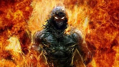 Demon Disturbed Guy Epic Indestructible Dark Awesome