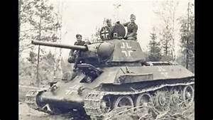 Tanque Ruso T 34 Capturados - T 34 Von Deutschland Captured - Ww2 T 34 Captured By Germany