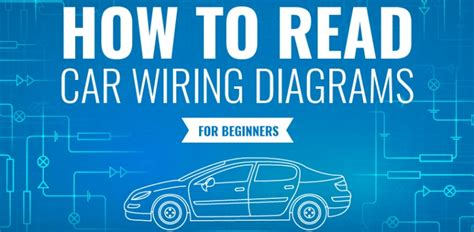 Auto Mechanic Infographic How Read Car Wiring