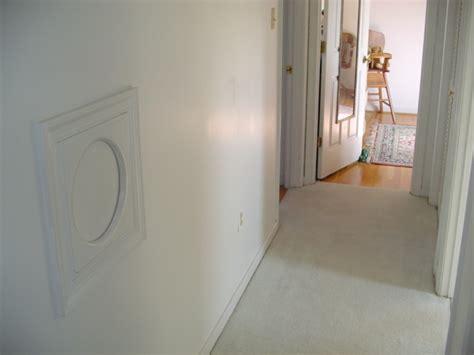 laundry chute hole  wall basement redo laundry