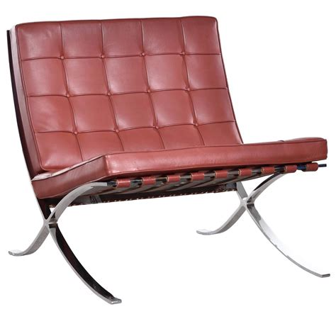 barcelona chair by ludwig mies der rohe for knoll for
