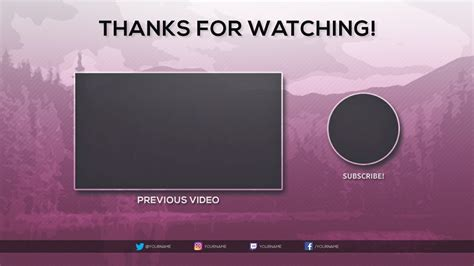Outro Template Free 2017 Outro Template Tristan Nelson Sellfy