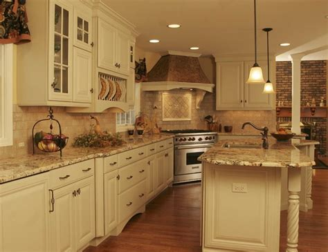 Country Kitchen Tile Backsplash : French Country Kitchen