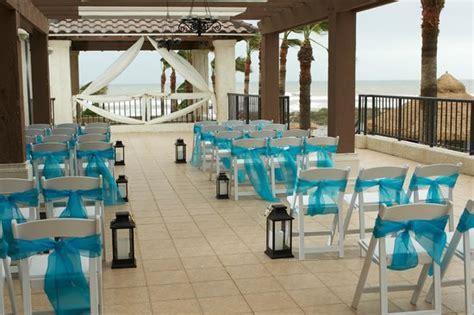 sailfish patio beach view wedding ceremony picture
