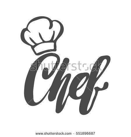 logo chef de cuisine chefs hat cook chef de cuisine stock vector 221725696