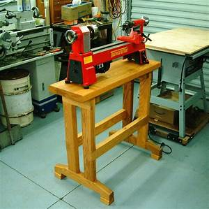 wood lathe bench - 28 images - lathe stand plans lathe