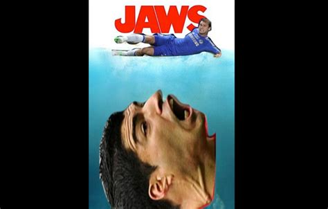 Patrice Evra Celebrates Title By Mocking Luis Suarez With