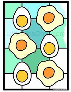 sunnyside eggs coloring pages