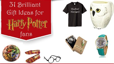 brilliant gift ideas  harry potter fans unusual gifts