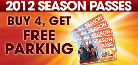 six flags season pass phone number free parking season pass for six flags my savings