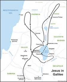 Galilee Map Jesus' Time