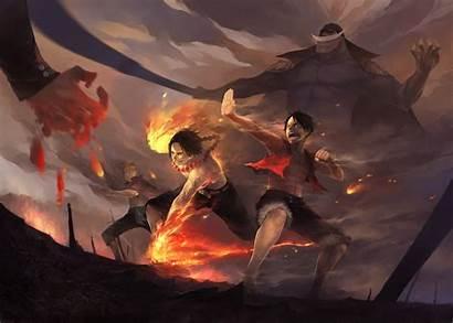 Luffy Monkey Fighting Anime Piece Fight Manga