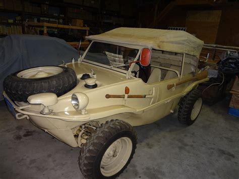 vw schwimmwagen for sale on land or sea restored hibious 1944 vw schwimmwagen