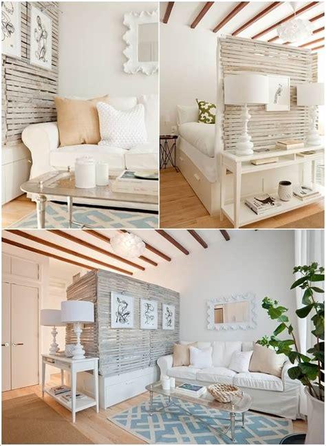 clever ways  design  living room  bedroom combo