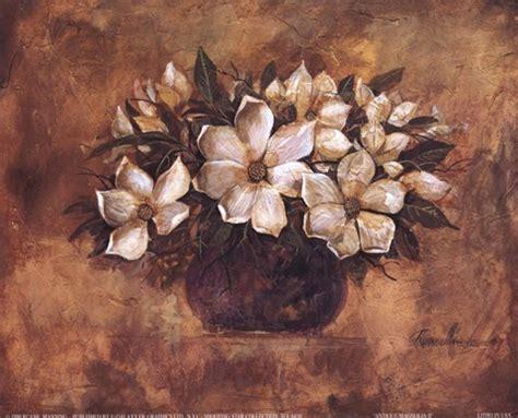 antique magnolia ii fine art print  ruane manning  fulcrumgallerycom