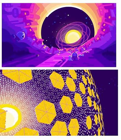 Kurzgesagt Dyson Sphere Posters Neat Few There
