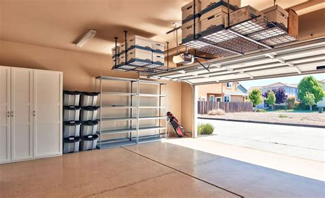 Garage Storage Ideas by Garage Storage Ideas Cabinets Racks Overhead Designs