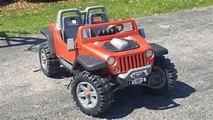Red Jeep Power Wheels Hurricane In Walmart