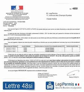 Déclaration De Perte Du Permis De Conduire : lettre 48si invalidation du permis que faire legipermis ~ Medecine-chirurgie-esthetiques.com Avis de Voitures
