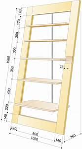 Regal Bauanleitung Holz : bauanleitung anlehnregal selber bauen holzarbeiten ~ Michelbontemps.com Haus und Dekorationen