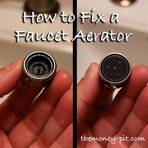 Fixing a Faucet Aerator: You CAN be a DIY'r too!   The Kim