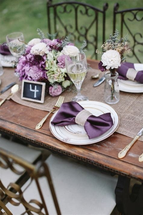 lavender table l sweet heirloom garden wedding inspiration