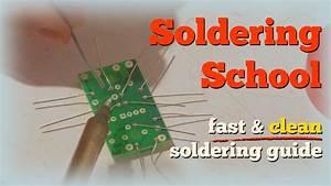 Clean Soldering Guide - Beginners Soldering Tutorial