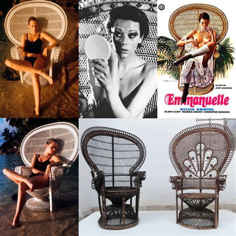 chaise emmanuelle pair of iconic 1970s 39 39 emmanuelle 39 39 sylvia kristel wicker